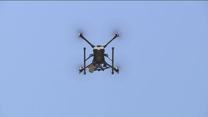 Vigilancia por tierra y aire y mayor seguridad en el Rastro de Vallecas