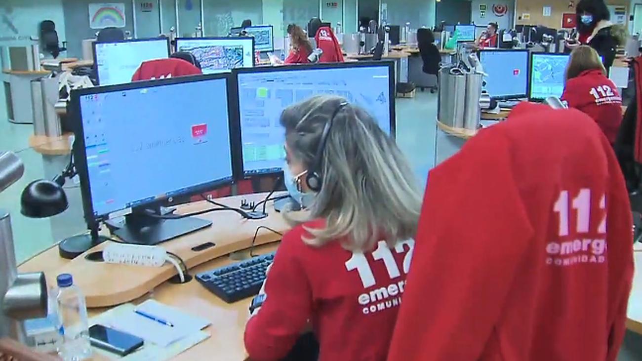 """El 112 de Madrid recibe más llamadas por """"fiestas"""" y menos por otro tipo de emergencias"""