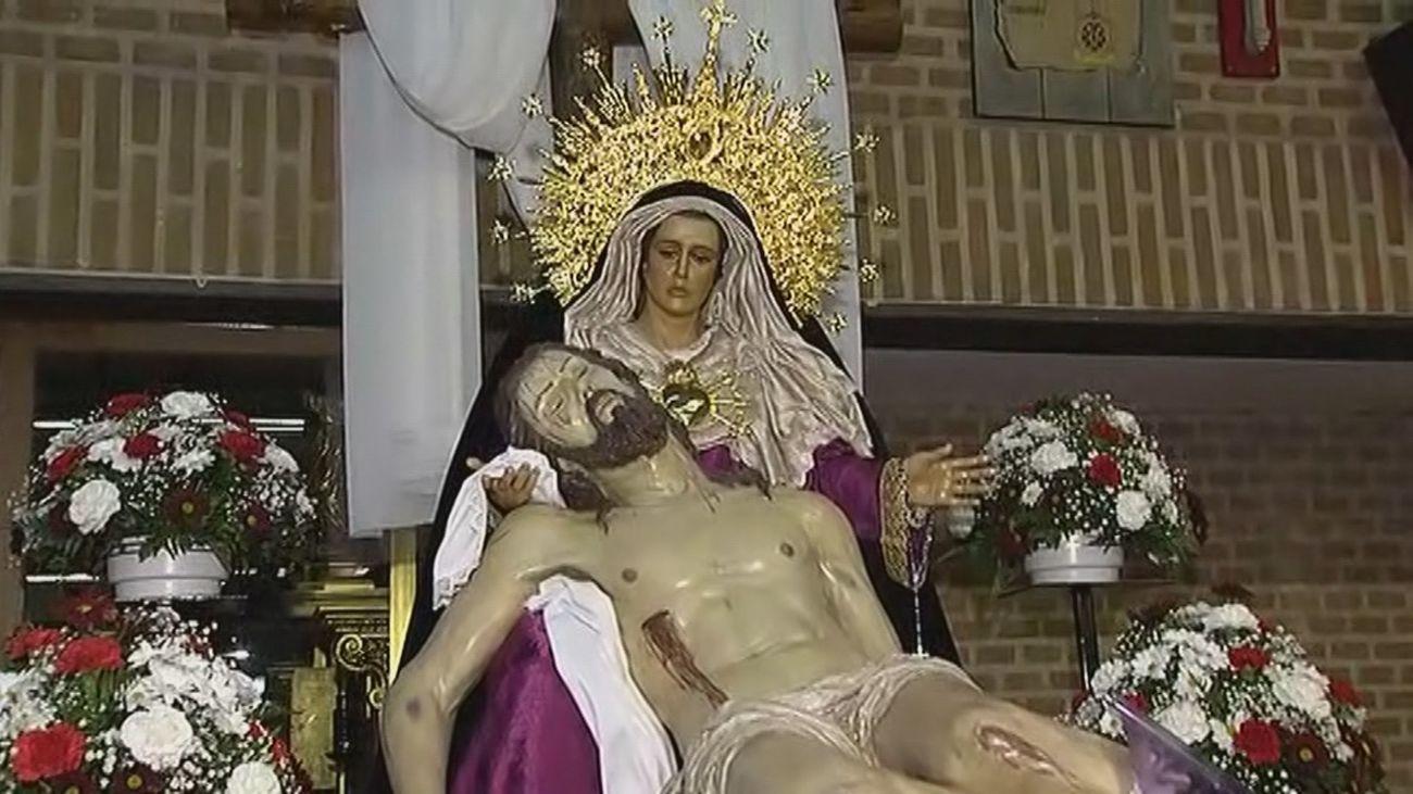 La Virgen de las Angustias, la Semana Santa también se vive en Alcalá
