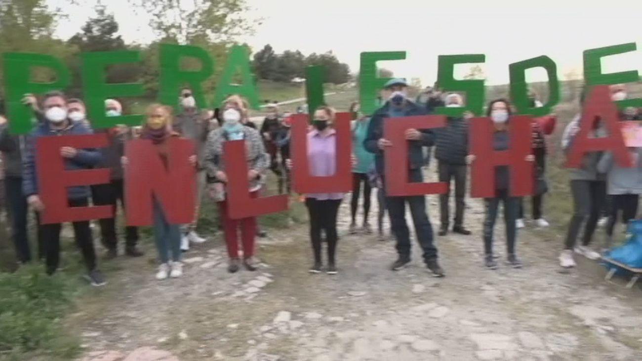 Vecinos de Perales del Río denuncian la contaminación en La Abulera