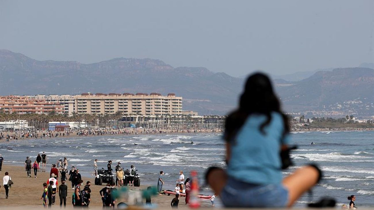 Playa de Las Arenas en Valencia