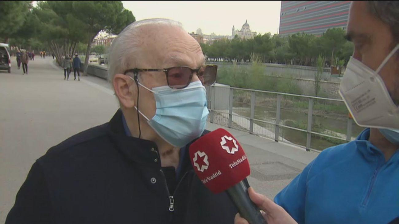 Los abuelos de Madrid, otra Semana Santa sin poder ver  sus nietos por el  covid