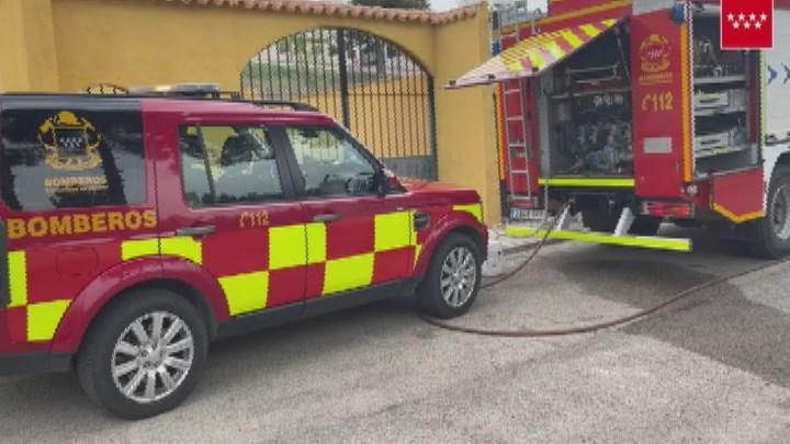 Muere un hombre en el incendio de un chalet en Colmenar de Oreja