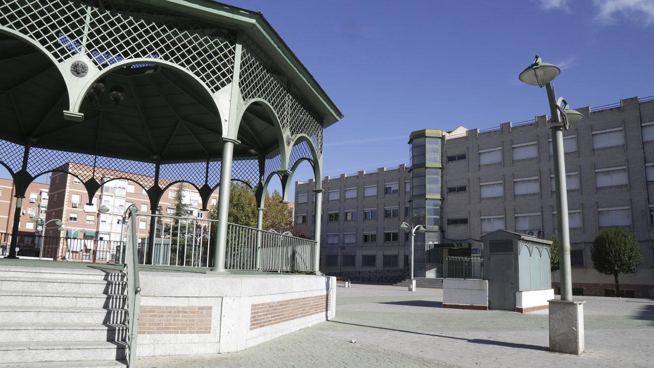 Centro Cívico Santiago Amón , sede de la Escuela Municipal de Música de Leganés