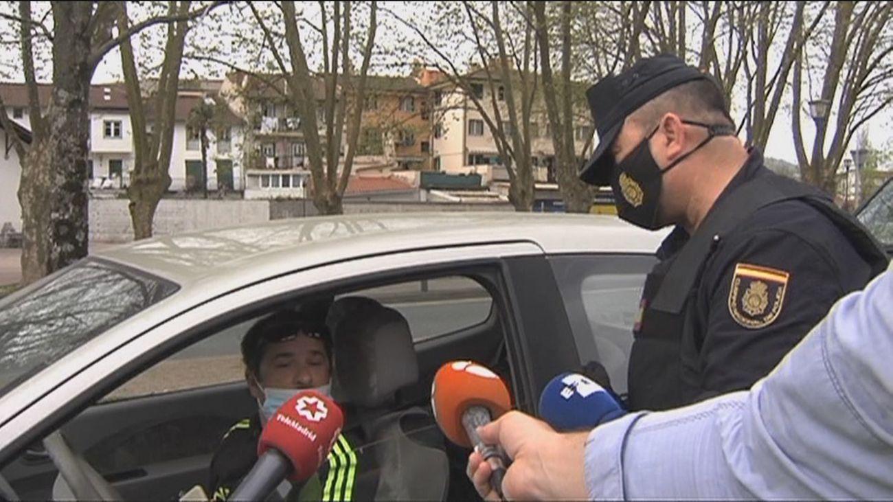 Controles aleatorios en las fronteras con Francia para comprobar la PCR exigida para entrar en España