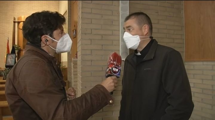 Una parroquia de Alcorcón, la primera iglesia de Madrid en controlar la calidad del aire y prevenir contagios