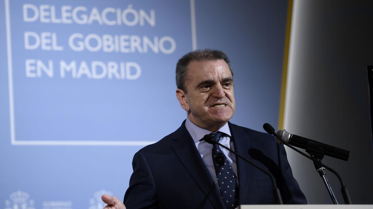 José Manuel Franco, delegado del Gobierno