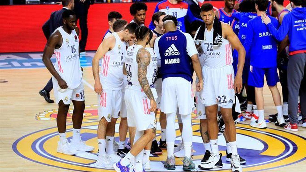 El Real Madrid de baloncesto, en la Euroliga