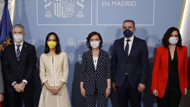 """La nueva delegada del Gobierno en Madrid apela a la colaboración y a """"trabajar todos juntos contra el virus"""""""