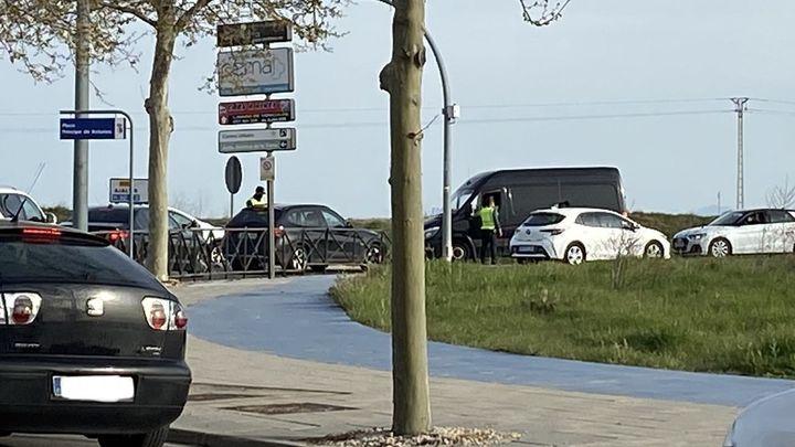 Paracuellos peatonaliza la avenida de la Circunvalación tras el cierre perimetral