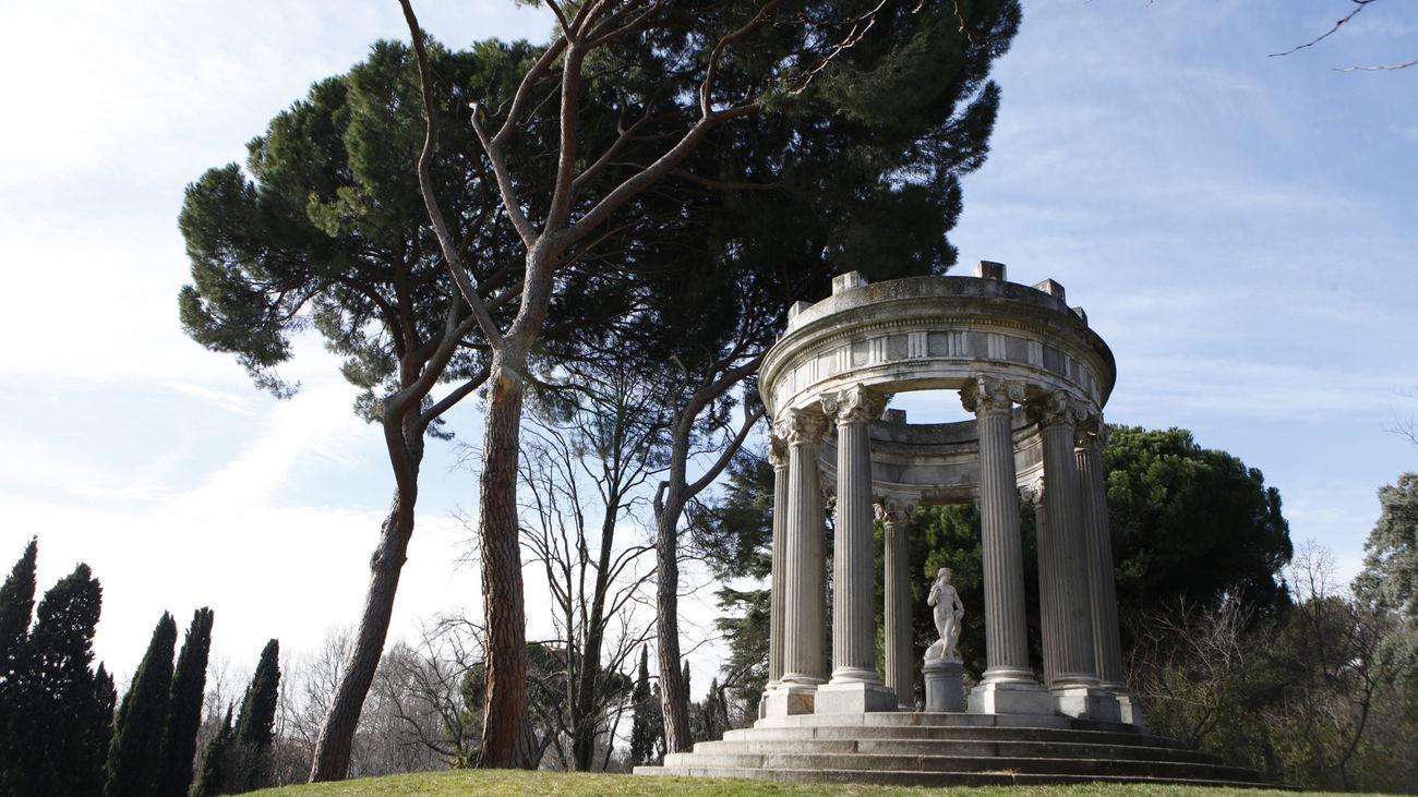 Templete en el Parque de El Capricho