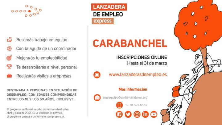 Se estrena en Carabanchel la primera lanzadera exprés de empleo en la Comunidad de Madrid