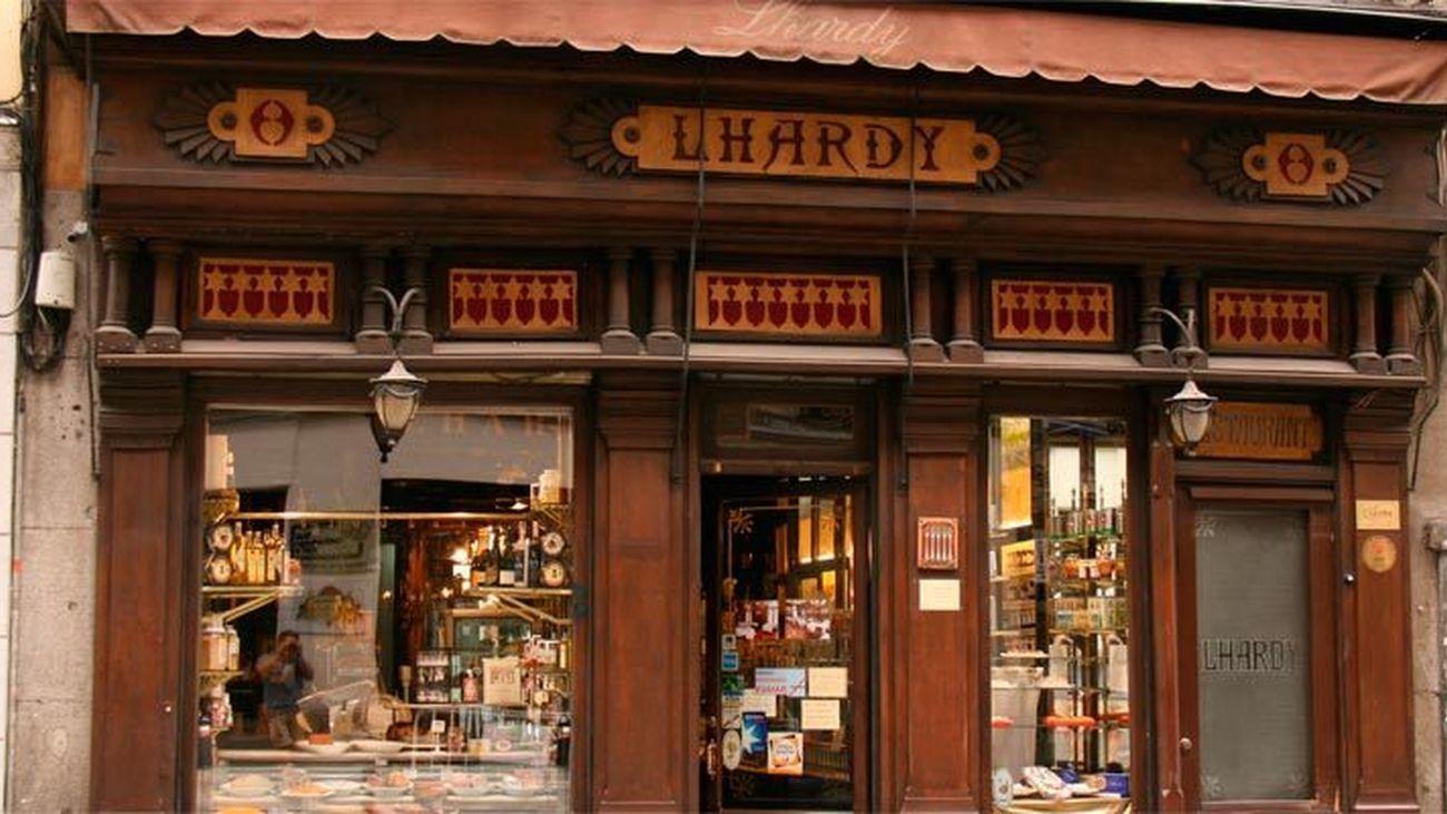 Restaurante Lhardy en Madrid