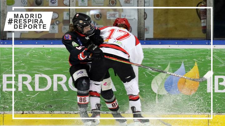 Majadahonda busca ante el Txuri Urdin su décima Copa de la Reina de hockey hielo