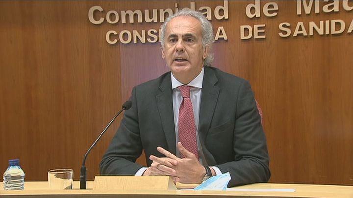 Madrid prevé que aumenten los contagios debido al cierre en Semana Santa