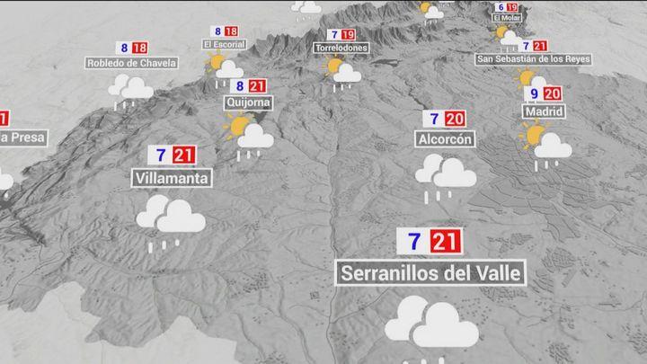 Aviso amarillo por tormentas en la tarde del sábado en toda la región