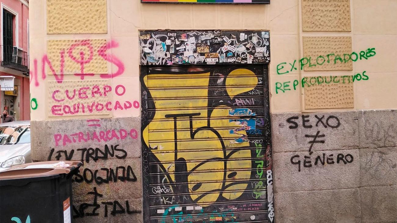 Sede Cogam vandalizada