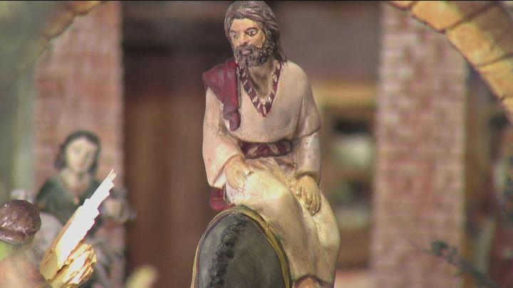 Un calvario en miniatura, para celebrar la Semana Santa en Pinto