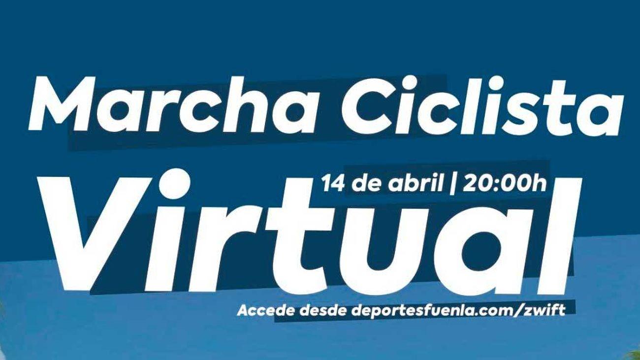 La tradicional marcha ciclista de Fuenlabrada,  de 22 kilómetros, será virtual este año por la Covid