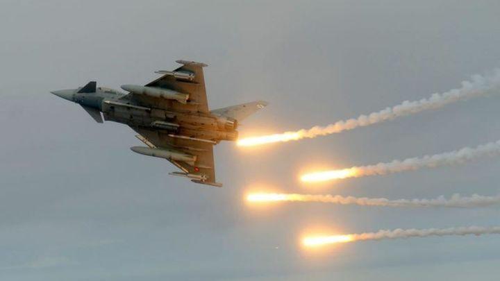 Los Eurofighter españoles efectúan 400 vuelos en dos meses de misión en Rumanía