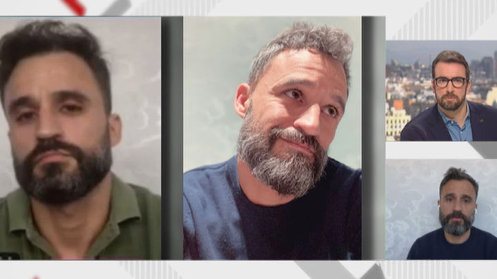 El antes y el después de un sanitario del Gregorio Marañón por el cansancio de la pandemia de la Covid