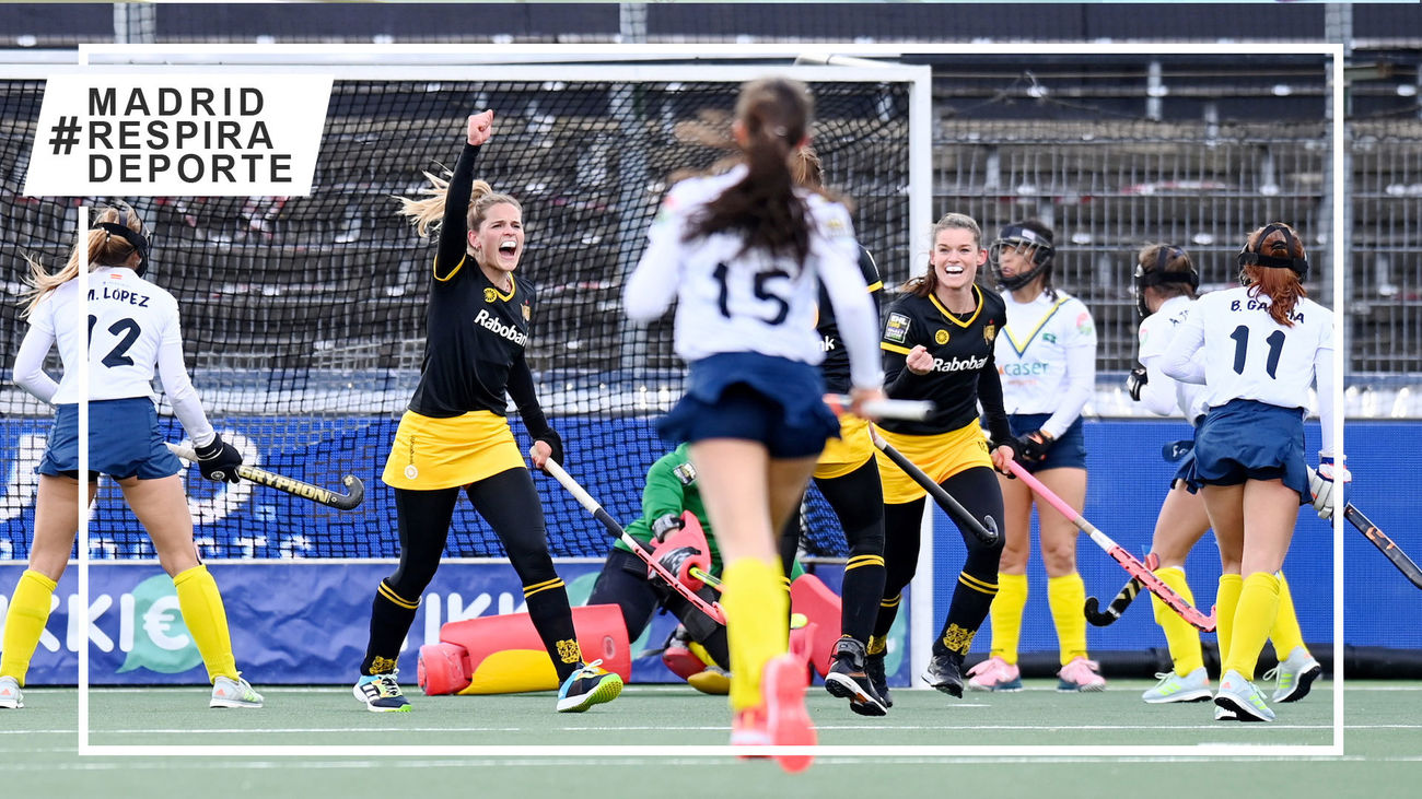Club de Campo en la final de la Euroliga de hockey femenina