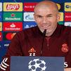 """Zidane: """"Va a ser un partido de ida y vuelta de 180 minutos o más"""""""
