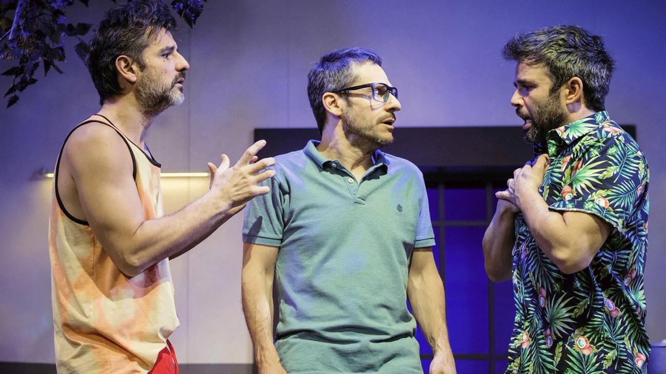 Los protagonistas de 'La cuenta' en el Teatro Gran Vía de Madrid