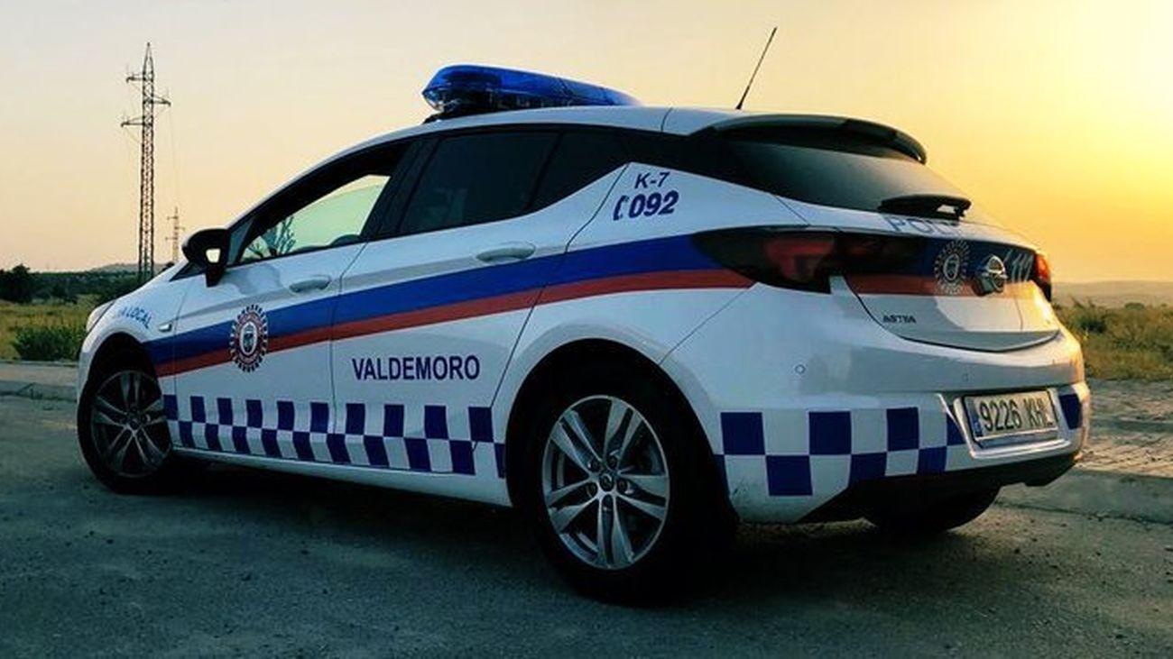 Vehículo de la Policía Local de Valdemoro