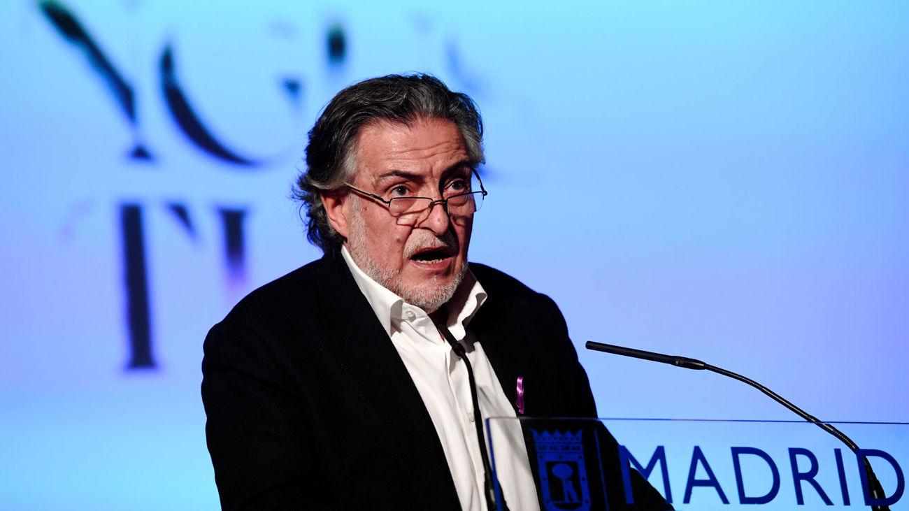 El portavoz socialista en el Ayuntamiento de Madrid, Pepu Hernández