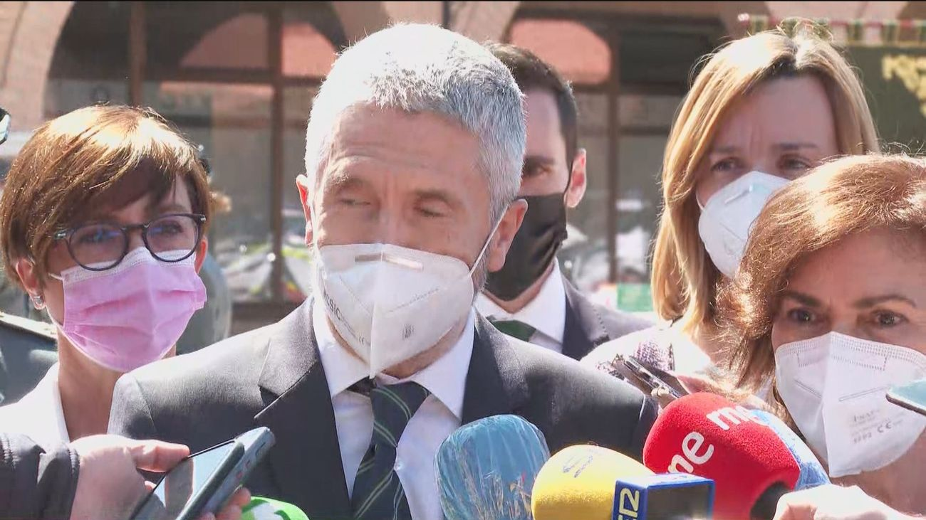 """Marlaska dice que no tiene """"ninguna voluntad"""" de dimitir"""