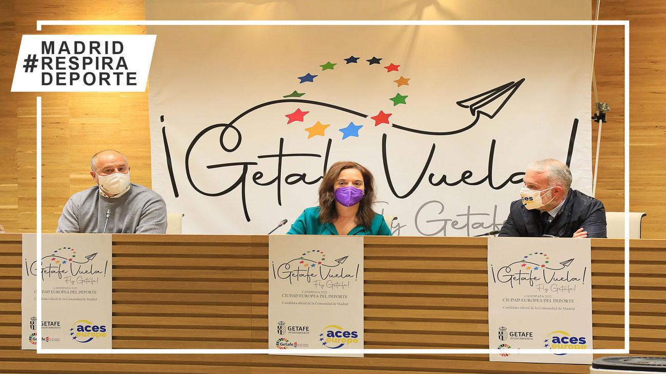Presrentación de la candidatura de Getafe para ser Ciudad Europea del Deporte