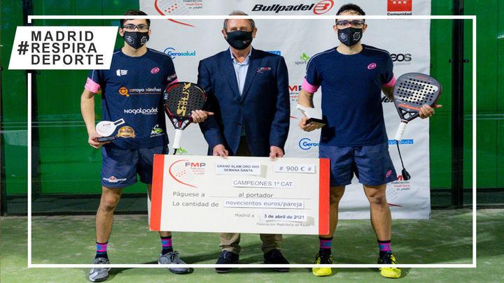 Todos los campeones delGrand Slam Oro 4.000 FMP Semana Santa