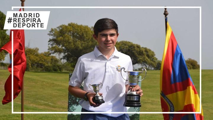 Sergio Jiménez, campeón de España de golf sub'18