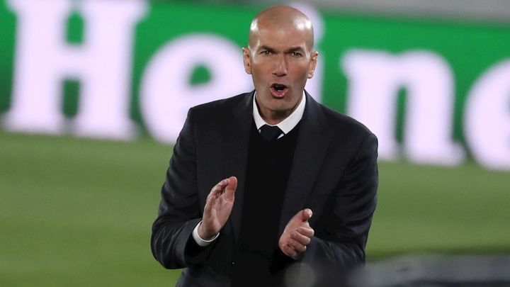 """Zidane: """"Estoy orgulloso de todos, queda la vuelta, no será fácil"""""""