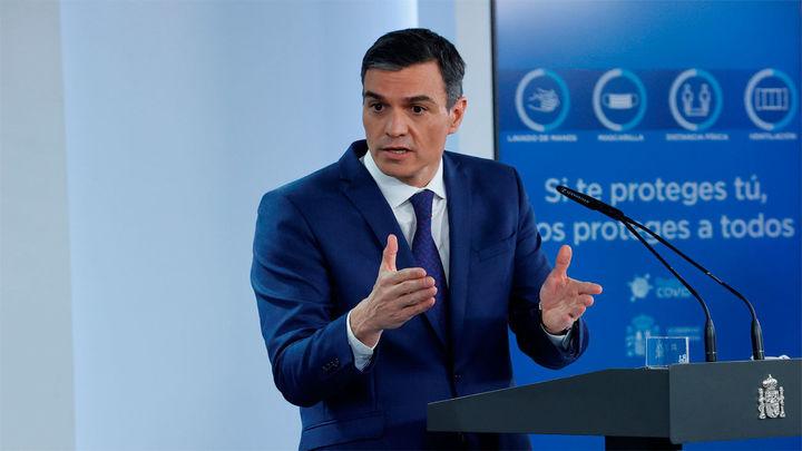 """Sánchez dice que, tras """"dos meses muy malos"""", marzo muestra ya la reactivación económica"""