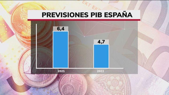 El FMI eleva su previsión de crecimiento para España al 6,4% en 2021