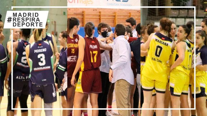 Leganés, Alcobendas y Canoe buscan el sueño del ascenso a la Liga Femenina