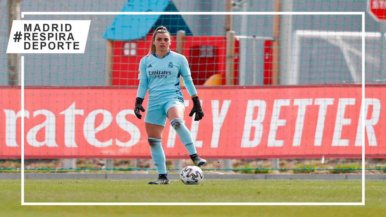 El fútbol se vuelca con Misa, portera del Real Madrid femenino, tras recibirinsultos machistas