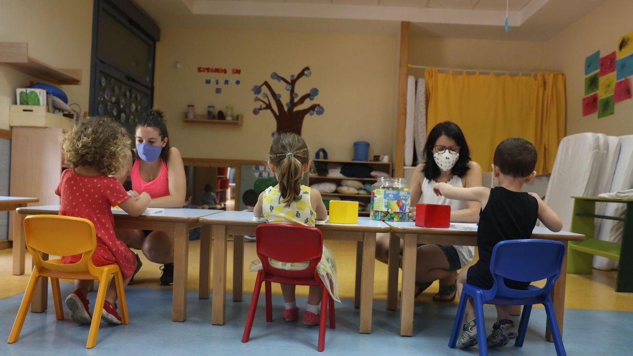 El segundo ciclo de Educación Infantil en Madrid contará con más horas de bilingüismo desde el próximo curso