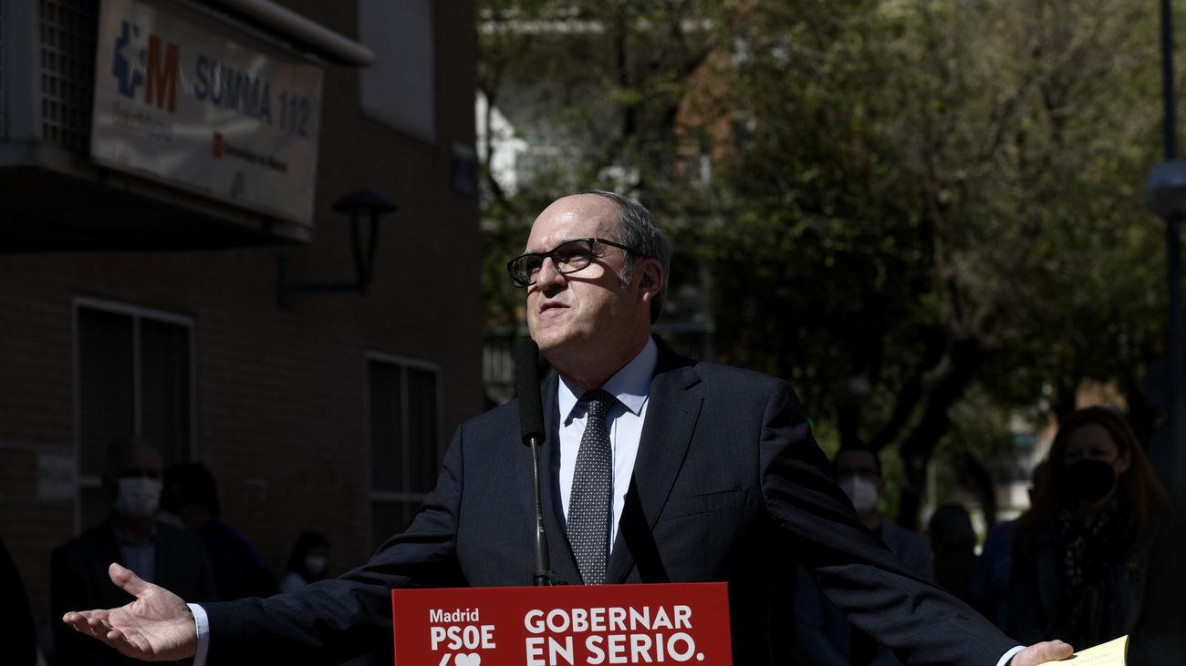Ángel Gabilondo candidato socialista a la Presidencia de la Comunidad