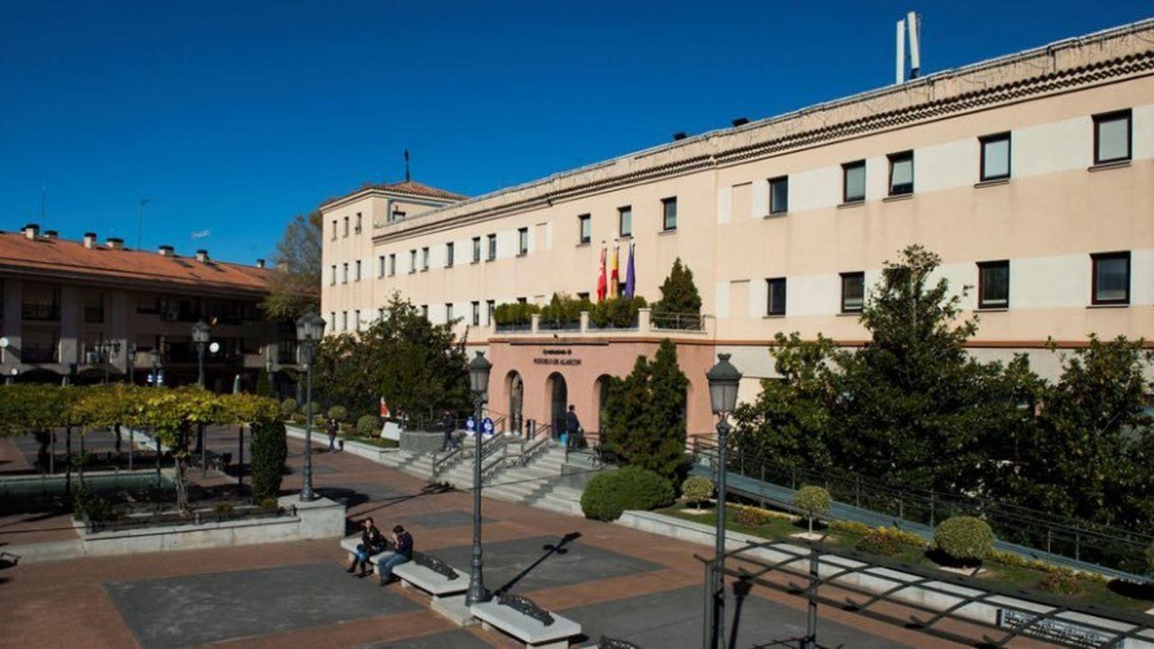 Fachada del ayuntamiento de Pozuelo de Alarcón