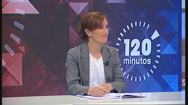 """Mónica García, en Telemadrid: """"No cerraríamos el Zendal, hay que reinvertir para sacarle provecho"""""""