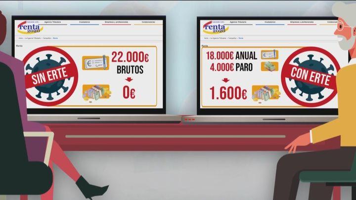 Los afectados por ERTE vuelven a ser los afectados en la declaración de la Renta