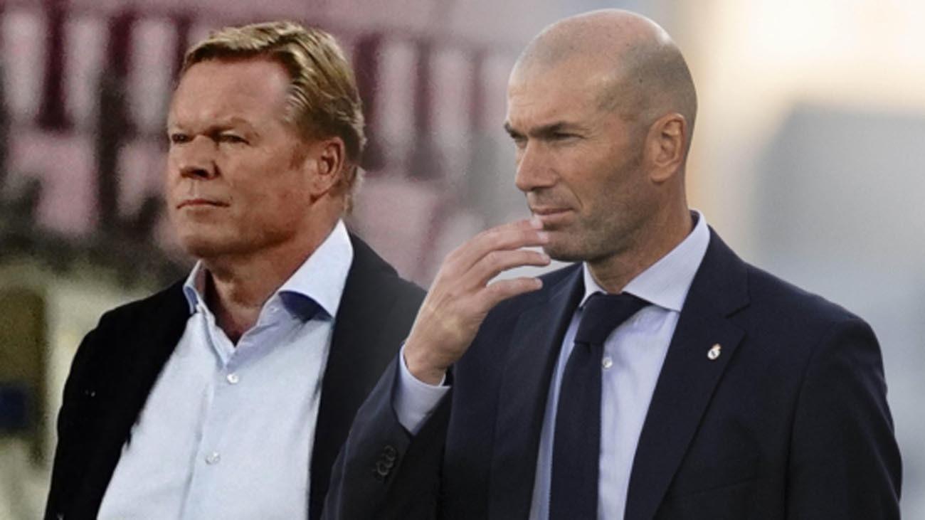 Koeman y Zidane