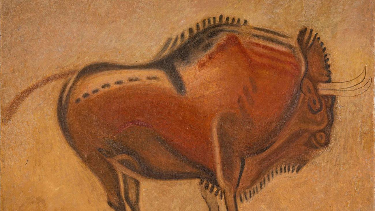 El Museo Arqueológico homenajea la gran muestra de arte rupestre de 1921