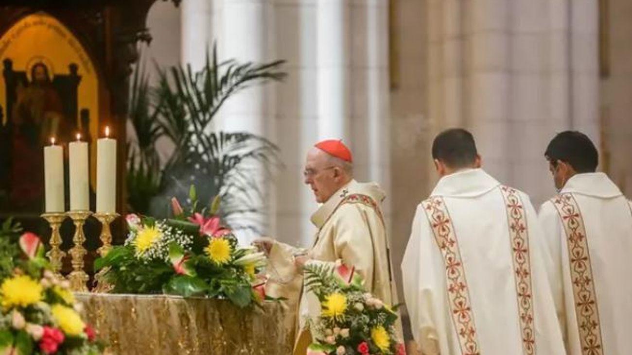 Un juez abre diligencias por la interrupción en abril de 2020 de una misa del Domingo de Resurrección