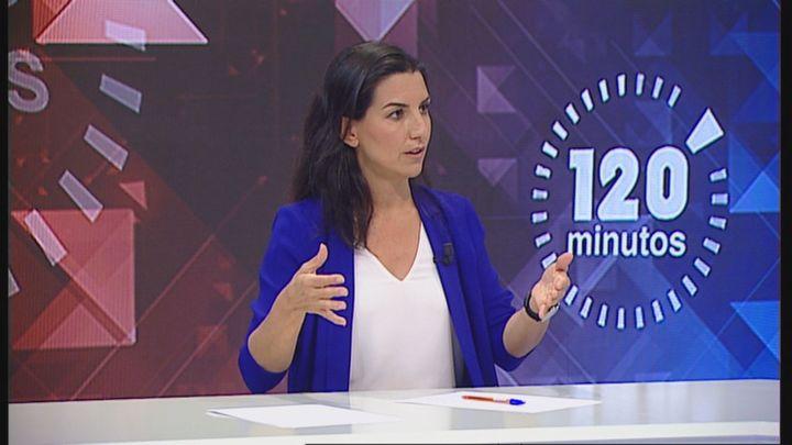 """Rocío Monasterio en Telemadrid: """"Marlaska ampara la violencia contra Vox, el tercer partido de España"""""""
