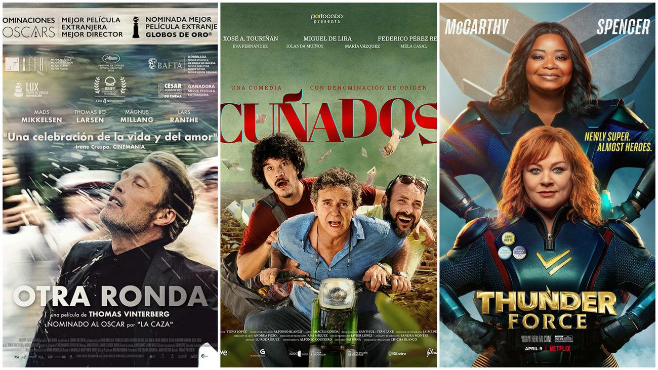Estrenos de cine... contados de otra manera: Superheroínas, cuñados y los nórdicos con sus cosa