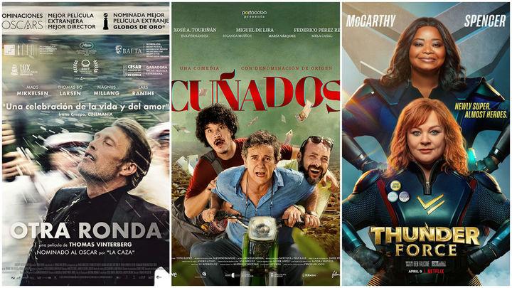 Estrenos de cine... contados de otra manera: Superheroínas, cuñados y los nórdicos con sus cosas